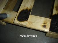 Behandeld hout